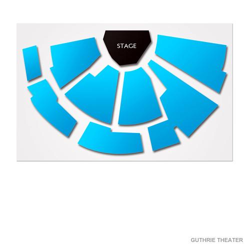 Guthrie Theatre - Wurtele Thrust Stage