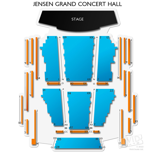 Jensen Grand Concert Hall