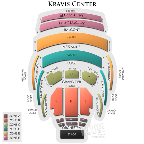 Kravis Center - Dreyfoos Hall