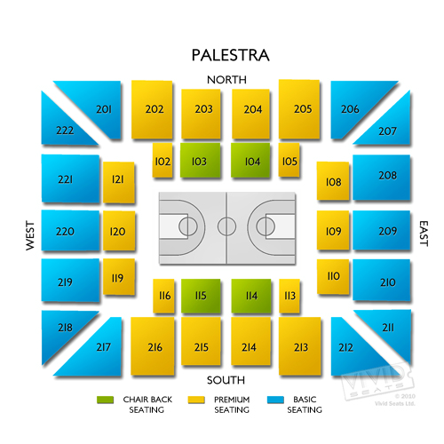 venues the palestra tickets philadelphia.