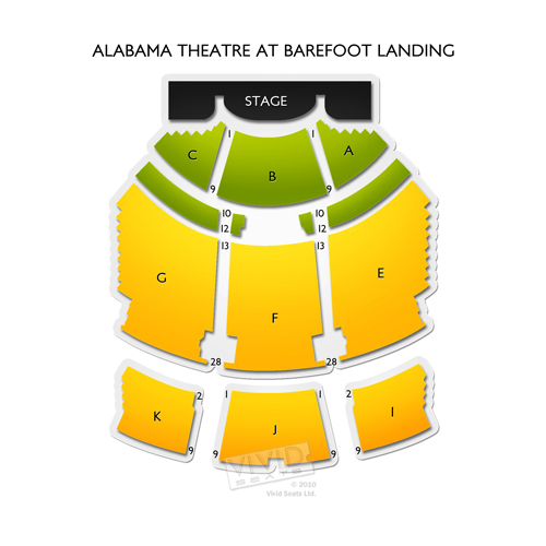 Alabama Theatre at Barefoot Landing
