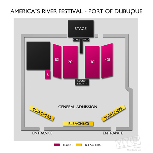Americas River Festival - Port of Dubuque