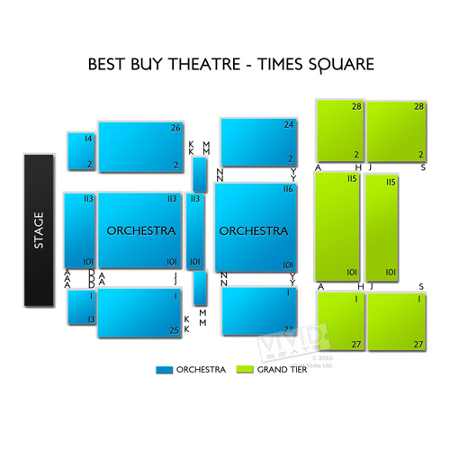 Best Buy Theatre - Times Square