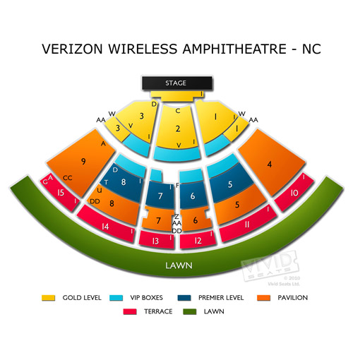Verizon Wireless Amphitheatre-NC