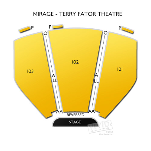 Mirage - Terry Fator Theatre