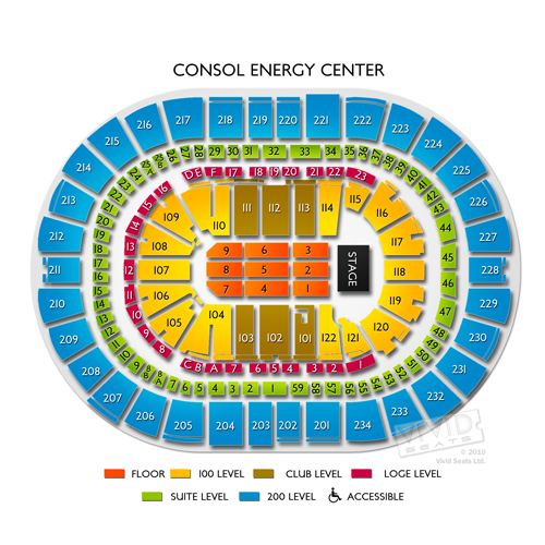 Ppg Paints Arena Tickets Ppg Paints Arena Seating Chart
