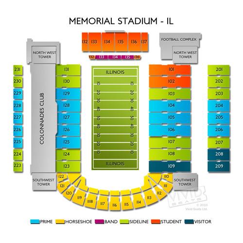 Memorial Stadium- IL