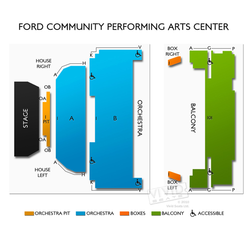 Ford Community Performing Arts Center