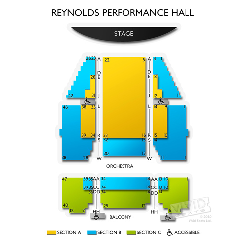 Reynolds Performance Hall
