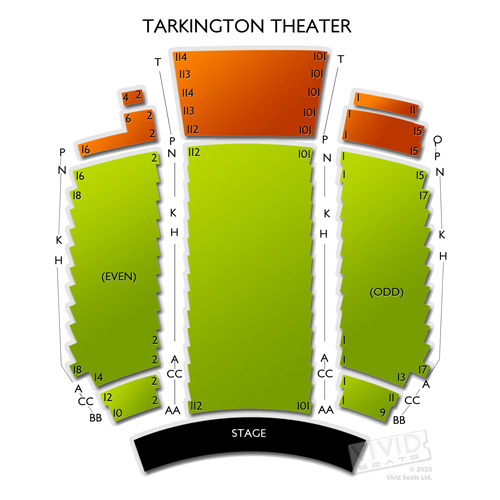The Center for the Performing Arts - Tarkington Theater
