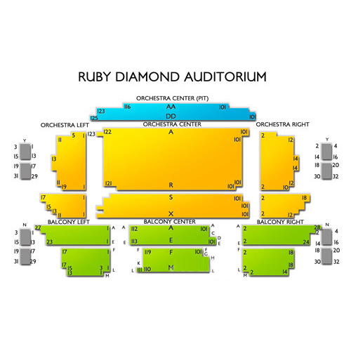 Ruby Diamond Auditorium