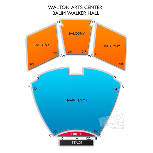 Walton Arts Center - Baum Walker Hall