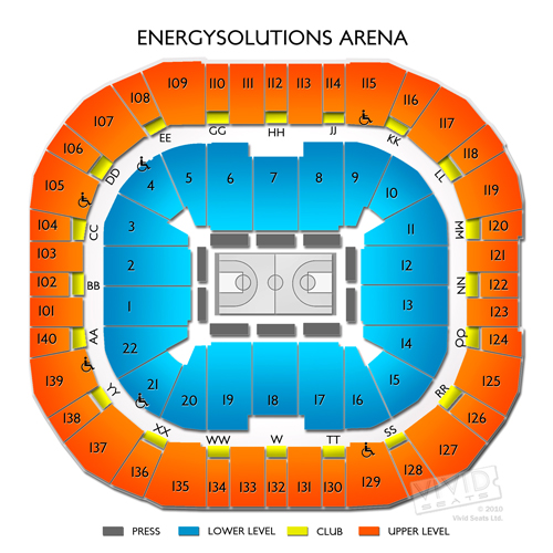 Vivint Smart Home Arena Tickets  Vivid Seats