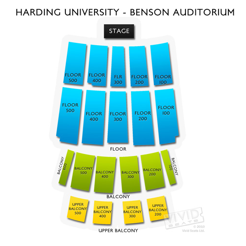 Harding University - Benson Auditorium