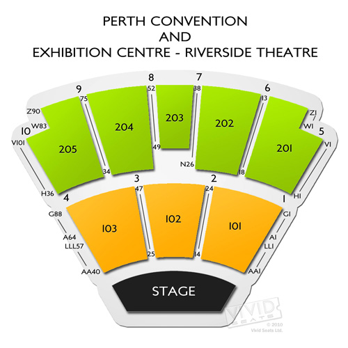Perth Convention and Exhibition Centre - Riverside Theatre