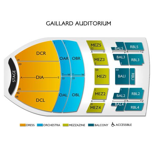 Gaillard Auditorium