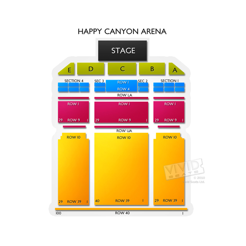 Happy Canyon Arena