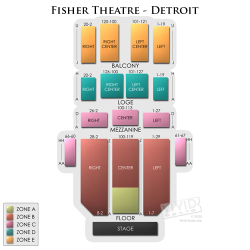 Fisher Theatre - Detroit