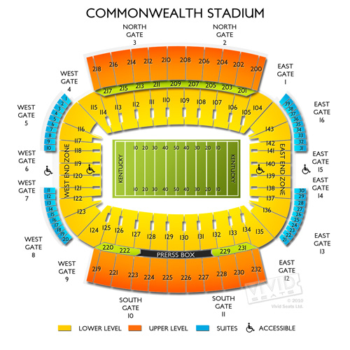 Commonwealth Stadium - KY