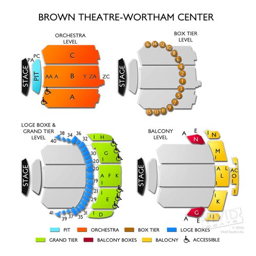 Brown Theatre at Wortham Center