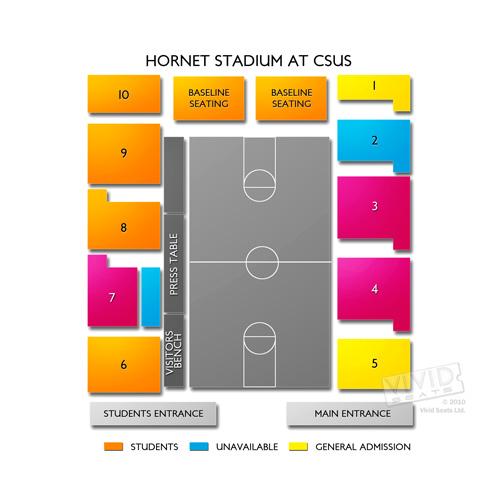 Hornet Stadium at CSUS