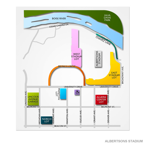Albertsons Stadium Parking - Albertsons Stadium Parking ...