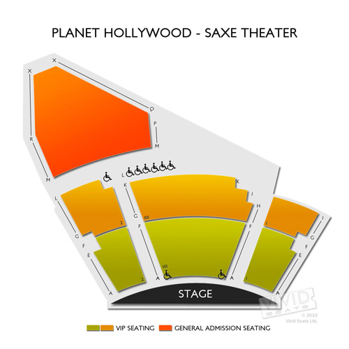 Saxe Theater - Planet Hollywood Resort and Casino