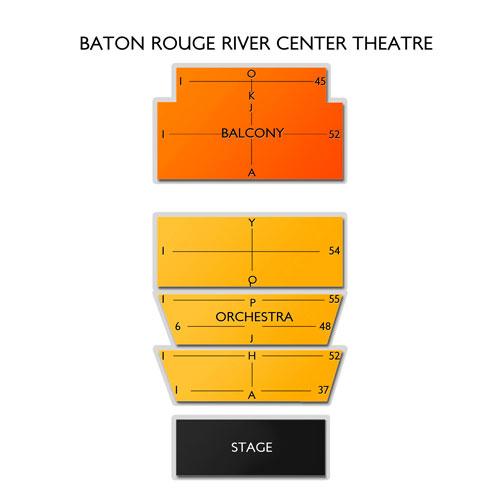 Baton Rouge River Center Theatre Seating Chart | Vivid Seats
