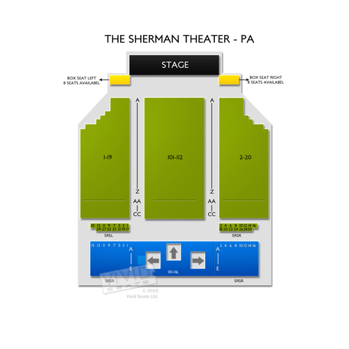 The Sherman Theater - PA