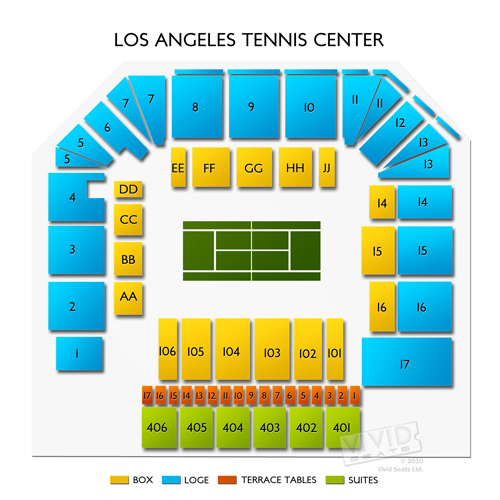 Los Angeles Tennis Center