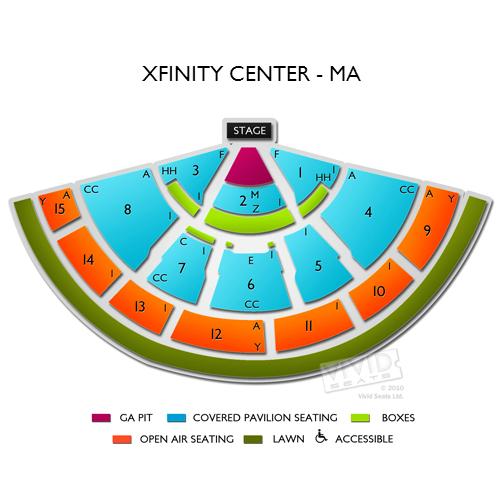 Xfinity Center - MA