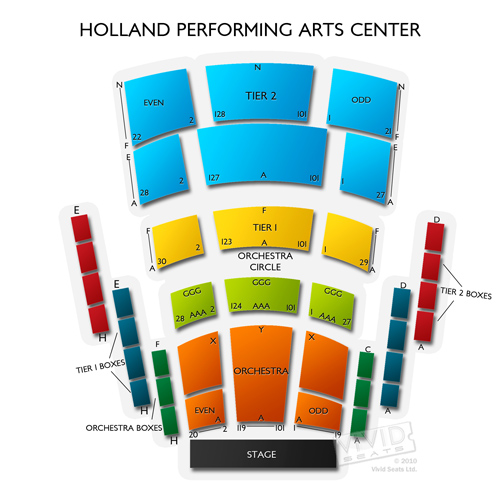 Holland Performing Arts Center