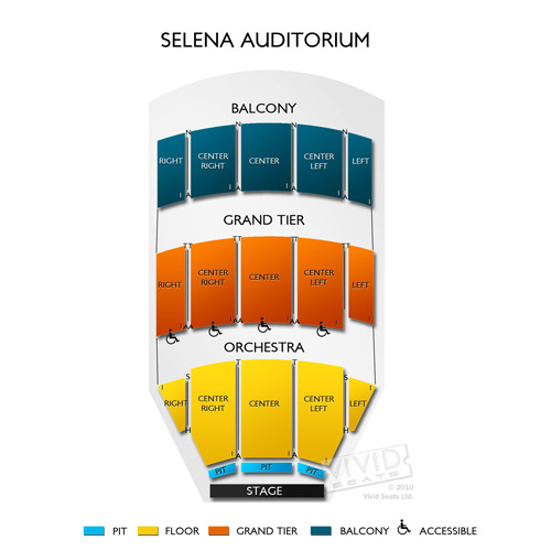 Selena Auditorium at American Bank Center