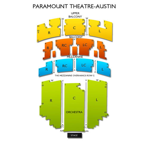 Paramount Theatre - Austin
