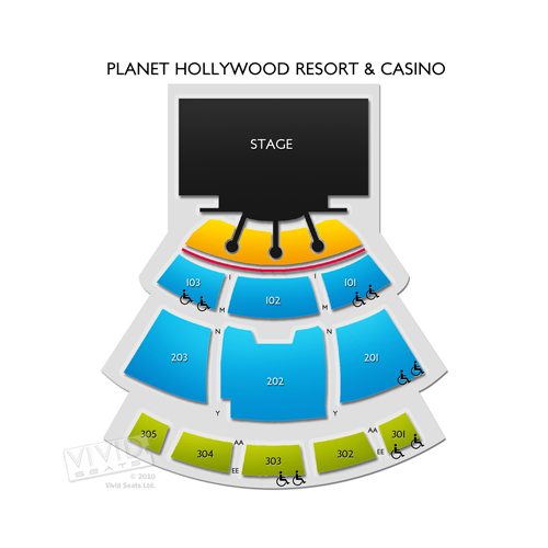 Steve Wyrick Theatre - Planet Hollywood Resort and Casino
