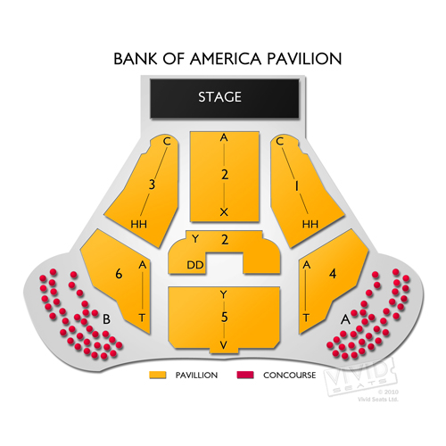 Bank of America Pavilion