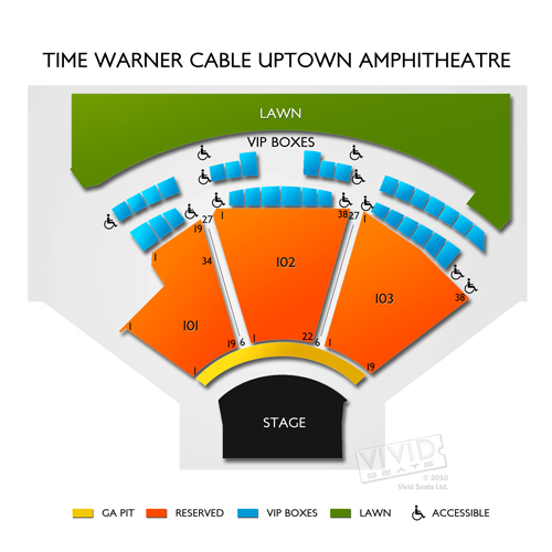 Time Warner Cable Uptown Amphitheatre