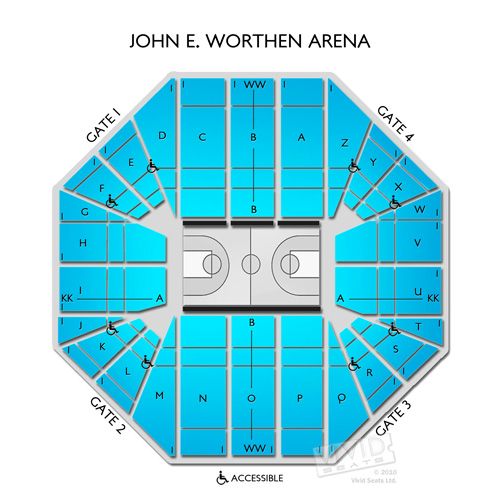 John E. Worthen Arena