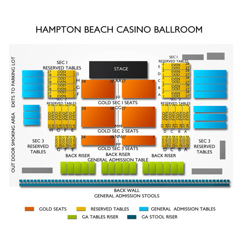 Hampton casino ballroom events