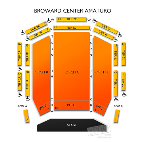 Broward Center Amaturo