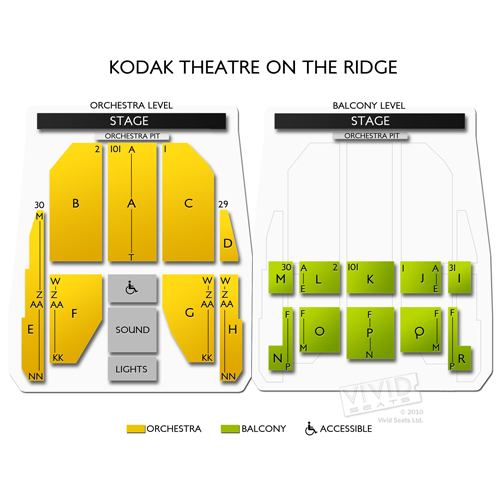 Kodak Theatre On the Ridge