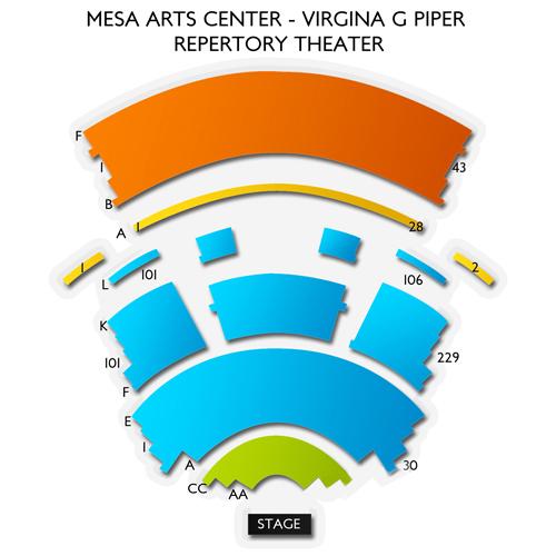 Mesa Arts Center - Piper Repertory Theater