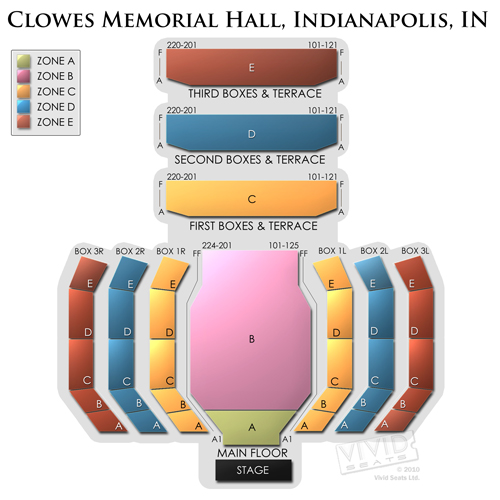 Clowes Memorial Hall