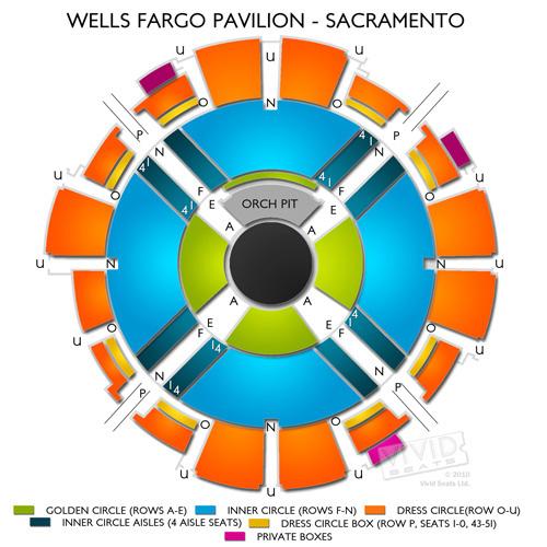 Wells Fargo Pavilion - Sacramento