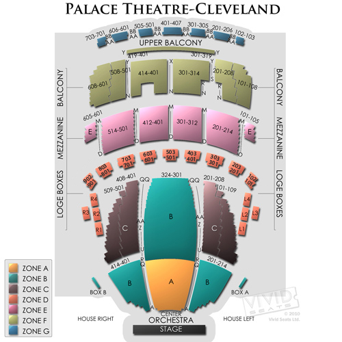 Palace Theatre Cleveland