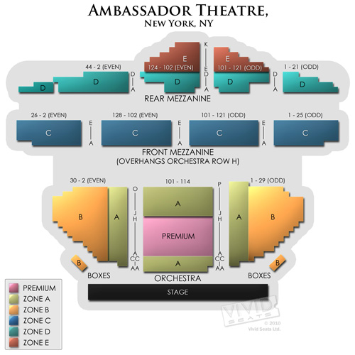 Ambassador Theatre New York