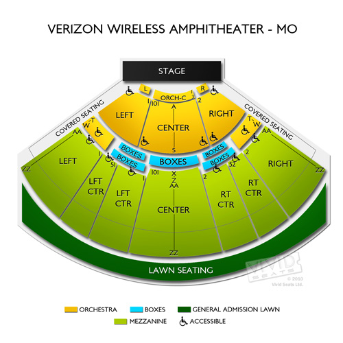 Verizon Wireless Amphitheater St Louis