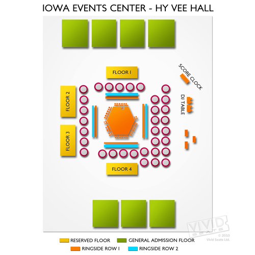 Iowa Events Center - Hy Vee Hall