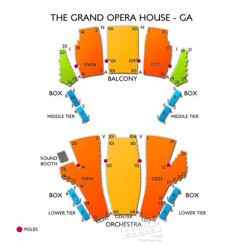 The Grand Opera House - GA