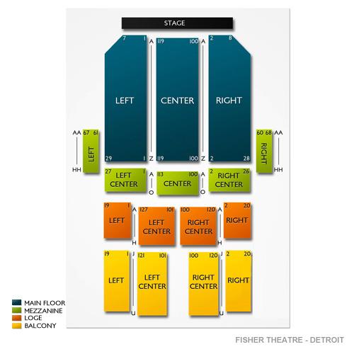 Fisher Theatre - Detroit